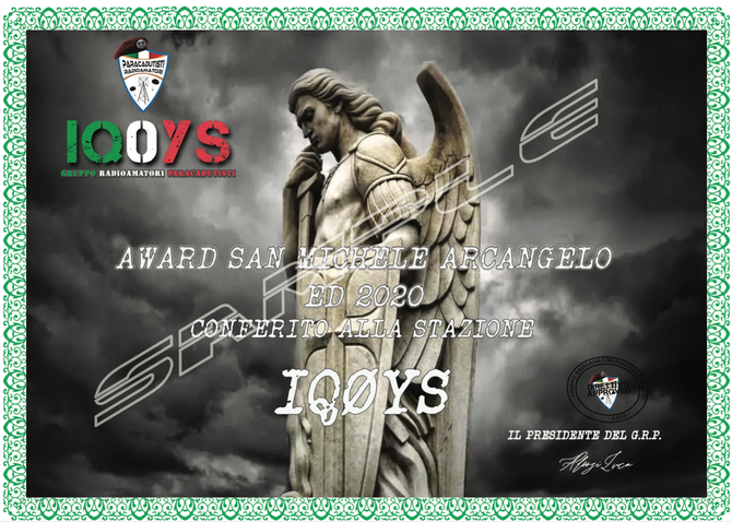 AWARD SAN MICHELE ARCANGELO 2020